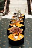 Banquet dans le type asiatique Photographie stock libre de droits