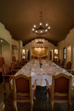 Banquet dining room Royalty Free Stock Photos