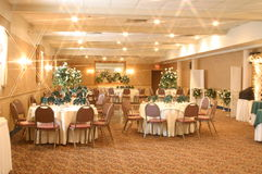 Banquet Facility stock photography