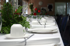Banquet formel I Photographie stock libre de droits