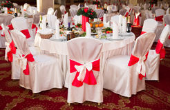 Banquet hall Stock Image