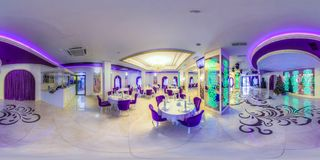 Banquet hall in the restaurant