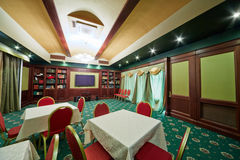 Banquet hall at restaurant Stock Images