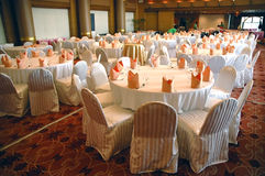 Banquet in the hotel Stock Photography