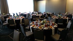 A banquet luncheon picture. Royalty Free Stock Photo
