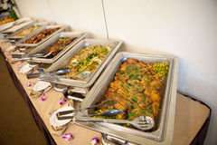 BANQUET MEALS Royalty Free Stock Images