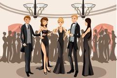 Banquet party vector illustration