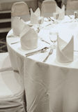 Banquet party table Stock Photography