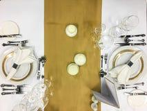 Banquet/restauration Photo stock