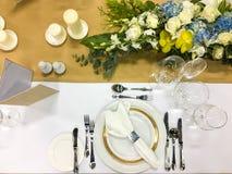 Banquet/restauration Photos stock