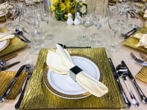 Banquet/restauration Photos libres de droits
