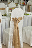 Banquet room Stock Photography