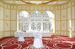 Banquet room in the luxury hotel Stock Image