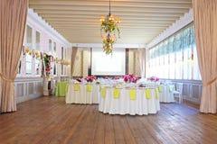 Banquet room Royalty Free Stock Photos