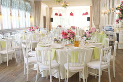 Banquet room Royalty Free Stock Photo