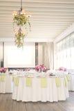 Banquet room Stock Photo