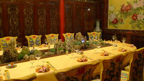 Banquet royal Image libre de droits