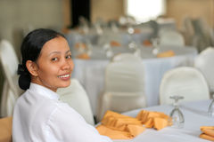 banquet staff Royalty Free Stock Image