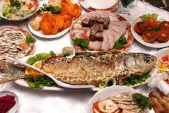 Banquet table Royalty Free Stock Photos