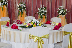 Free Banquet Table Royalty Free Stock Photography - 4467937