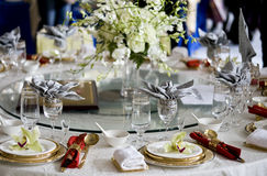 Free Banquet Table Stock Photos - 8725293