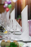THE BANQUET TABLE Royalty Free Stock Photo