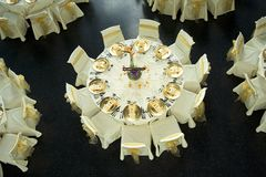 Banquet Tables Stock Images