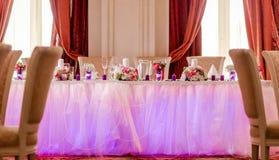 Banquet Wedding Photo libre de droits