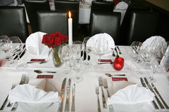 Banquet Wedding Photo libre de droits