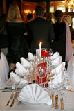 Banquet Wedding Photo stock