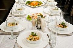 Banquete foto de archivo