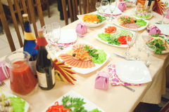 Banquete Imagens de Stock