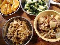 Banquete asiático delicioso Imágenes de archivo libres de regalías