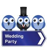 Banquete de casamento Fotos de Stock