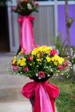 Banquete de casamento da flor Imagens de Stock Royalty Free