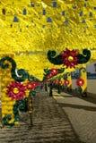 Banquete de la flor de Redondo Imagenes de archivo