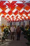 Banquete de la flor de Redondo Fotos de archivo libres de regalías