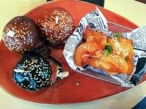 Banquete de la hamburguesa Fotos de archivo libres de regalías