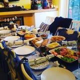 Banquete de la Navidad Fotografía de archivo libre de regalías