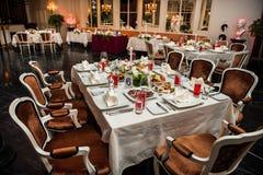 Banquete de lujo Fotos de archivo