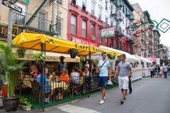 Banquete de NYC de San Gennaro Foto de archivo