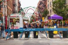 Banquete de NYC de San Gennaro Imágenes de archivo libres de regalías