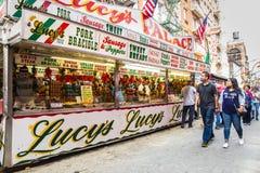 Banquete de San Gennaro NYC Foto de archivo libre de regalías