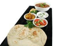 Banquete del alimento indio Foto de archivo libre de regalías