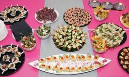 Banquete del partido Imágenes de archivo libres de regalías