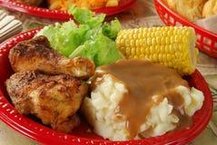 Banquete del pollo Foto de archivo libre de regalías