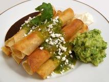 Banquete del Taco de pollo Imagen de archivo