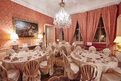 Banquete do jantar de gala Fotografia de Stock Royalty Free