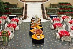 Banquete en estilo asiático Fotografía de archivo libre de regalías