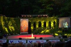 Banquete festivo de Varna del concierto Imagen de archivo